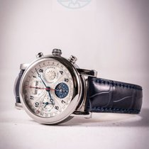 Christiaan v.d. Klaauw Chronograph 40mm Automatic 2017 new Silver (solid)