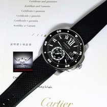 Cartier Calibre Stainless Steel Mens Automatic Diver's Watch...