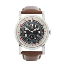 Omega Museum 1938 Pilots Stainless Steel Men's 5700.50.07 - W4626