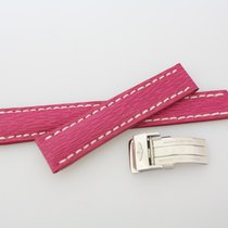 Breitling Teile/Zubehör neu Leder Pink