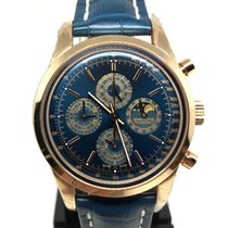 Breitling Chronograph 43mm Automatic new Transocean Chronograph QP Blue