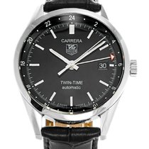TAG Heuer Carrera Calibre 7 Steel 39mm Black