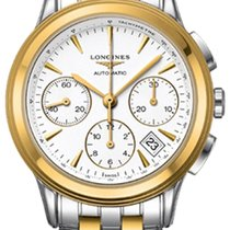 Longines Flagship Gold/Steel 39mm White United States of America, New York, Airmont