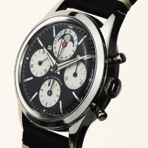 Universal Genève new Manual winding Small Seconds Luminescent Hands Only Original Parts Luminous indexes 34,5mm Steel