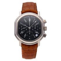 Daniel Roth Chronograph 36mm Automatic pre-owned Black