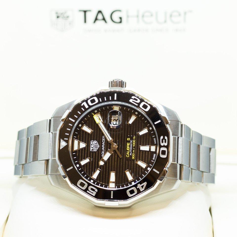 93762d4ff3d TAG Heuer Aquaracer Calibre 5 Ref  WAY201A.BA0927 for  2