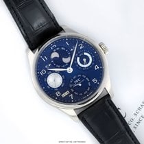 IWC Portuguese Perpetual Calendar White gold 44.2mm Blue United States of America, New York, Airmont