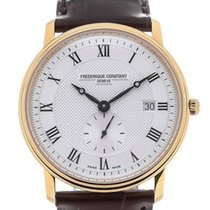 Frederique Constant Slimline Gents FC-245M5S5 New 39mm Quartz