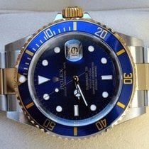 Rolex Submariner Date Gold/Stahl 40mm Blau Keine Ziffern Österreich, Linz