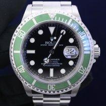 Rolex NEW Submariner Green Bezel Kermit 50th Anniversary UNWORN