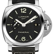 Panerai Luminor 1950 3 Days GMT Automatic Steel 42mm Black Arabic numerals United States of America, New York, New York