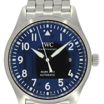IWC Pilot Mark Aço 40mm Preto