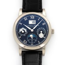 A. Lange & Söhne Langematik Perpetual White gold 38.5mm Black United States of America, California, Beverly Hills
