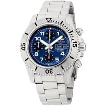 Breitling Superocean Chronograph Steelfish Steel 44mm Blue Arabic numerals United States of America, New York, Brooklyn