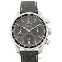 Omega Speedmaster Ladies Chronograph Сталь 38mm Cерый
