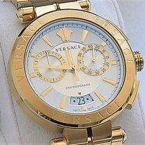 Versace Zuto zlato 45mm Kvarc VE1D004 19 nov