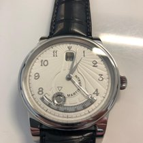 Martin Braun White gold 42mm Automatic Martin braun Zephyros new