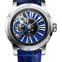 Louis Moinet Metropolis Titanium 43.2mm Blue