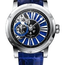 Louis Moinet Metropolis Титан 43.2mm Синий