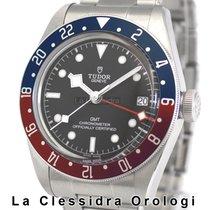 Tudor Black Bay GMT Acciaio 41mm Nero Senza numeri Italia, Milano