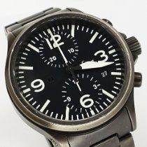 Sinn 756 / 757 Steel 40mm Black Arabic numerals