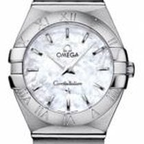 Omega Constellation Quartz Steel 27mm Mother of pearl No numerals