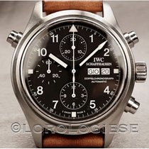 IWC Pilot Double Chronograph 3713 1990 pre-owned