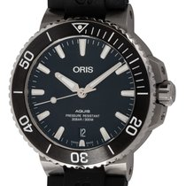 Oris Aquis Date Steel 39mm Black United States of America, Texas, Austin