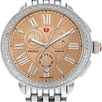 Michele Serein MICHELE SEREIN DIAMOND METALIC ROSE GOLD DIAL MWW21A000046 nieuw