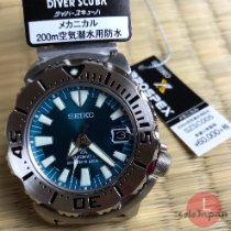 Seiko Acier 47,5mm Remontage automatique SZSC005 nouveau