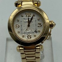 Cartier Or jaune 32mm Remontage automatique 2397 occasion France, Paris