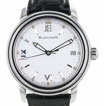 Blancpain Léman Ultra Slim новые Автоподзавод Часы с оригинальными документами и коробкой 2100-1127-53A
