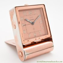 Cartier Travel Alarm Clock circa 1940's