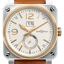 Bell & Ross BR 03-90 Grande Date et Reserve de Marche new Automatic Watch with original box BR03-90-BICOLOR