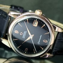 Omega Seamaster 503 Automatic Date Gold Cap Steel Mens Watch