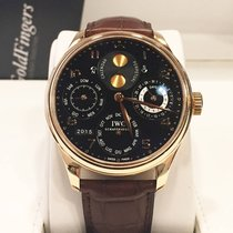 IWC Portuguese Perpetual Calendar Double Moon Rose Gold