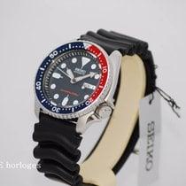 Seiko SKX009 Pepsi Diver 200m - Rubber strap - NEW