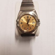 Omega Constellation Double Eagle Steel Champagne