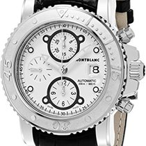 Montblanc Sport Automatic Chronograph Silver Dial Mens Watch...