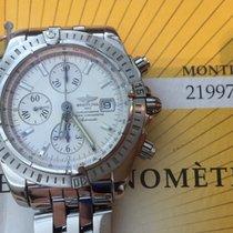 Breitling Chronomat Evolution Steel 2007 White Dial 44mm
