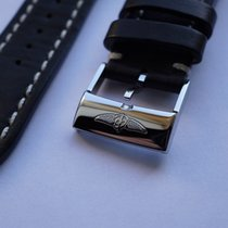 Breitling 24-20 mm Barena Leather Strap Armband