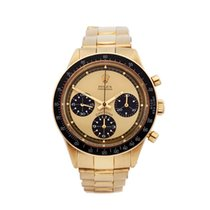 "Rolex ""Paul Newman"" Daytona Lemon Dial 18K Yellow Gold 6264 -..."