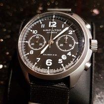 Hamilton Khaki Pilot Pioneer H76456435 HAMILTON KHAKI AVIATION Acciaio Nero 41mm new