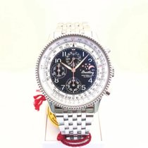 Breitling Montbrillant Olympus Steel 42mm Black Arabic numerals United States of America, New York, Flushing