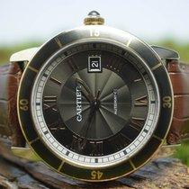 Cartier 42mm Automatik gebraucht Ronde Croisière de Cartier Braun