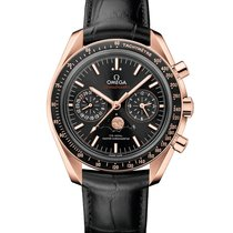 Omega 304.63.44.52.01.001 Or rose Speedmaster Professional Moonwatch Moonphase nouveau