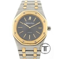 Audemars Piguet Royal Oak Jumbo Stål 39mm Grå Ingen tal