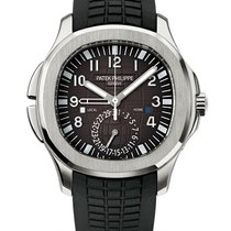 Patek Philippe Aquanaut Steel 40.8mm Black Arabic numerals
