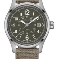 Hamilton Khaki Field Steel 40mm Green