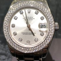 Rolex Pearlmaster White gold 34mm No numerals